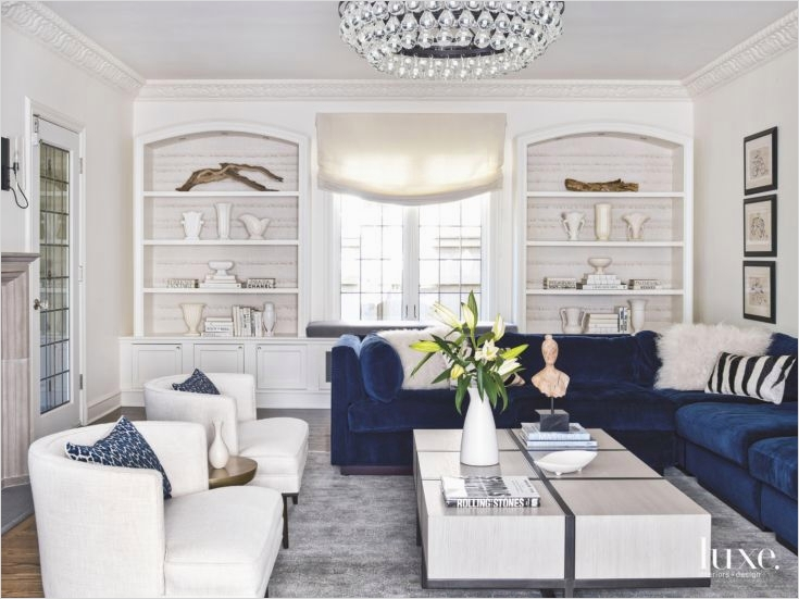 outstanding navy white living room | navy blue and white living room 31 - DecoRewarding