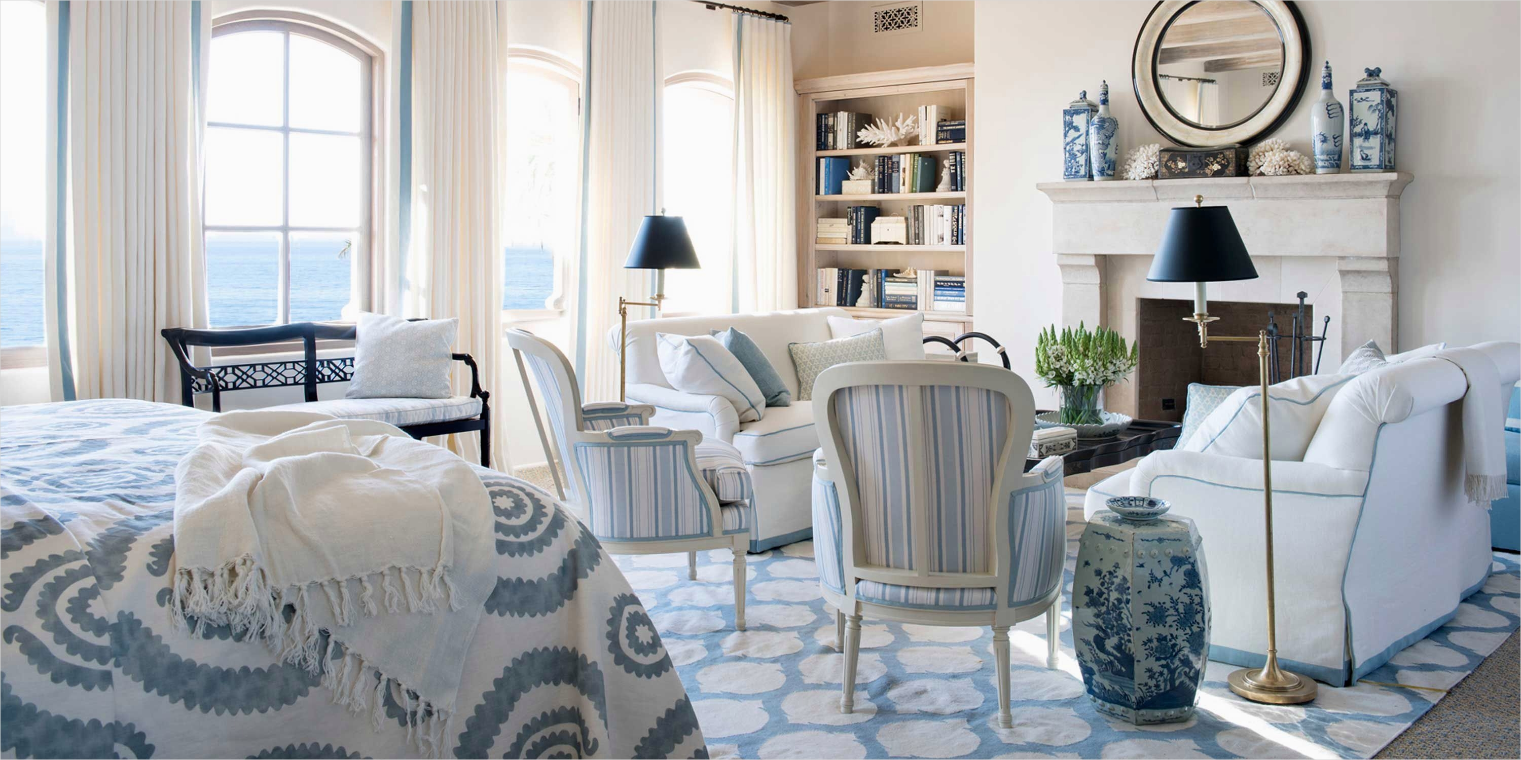outstanding navy white living room | navy blue and white living room 34 - DecoRewarding