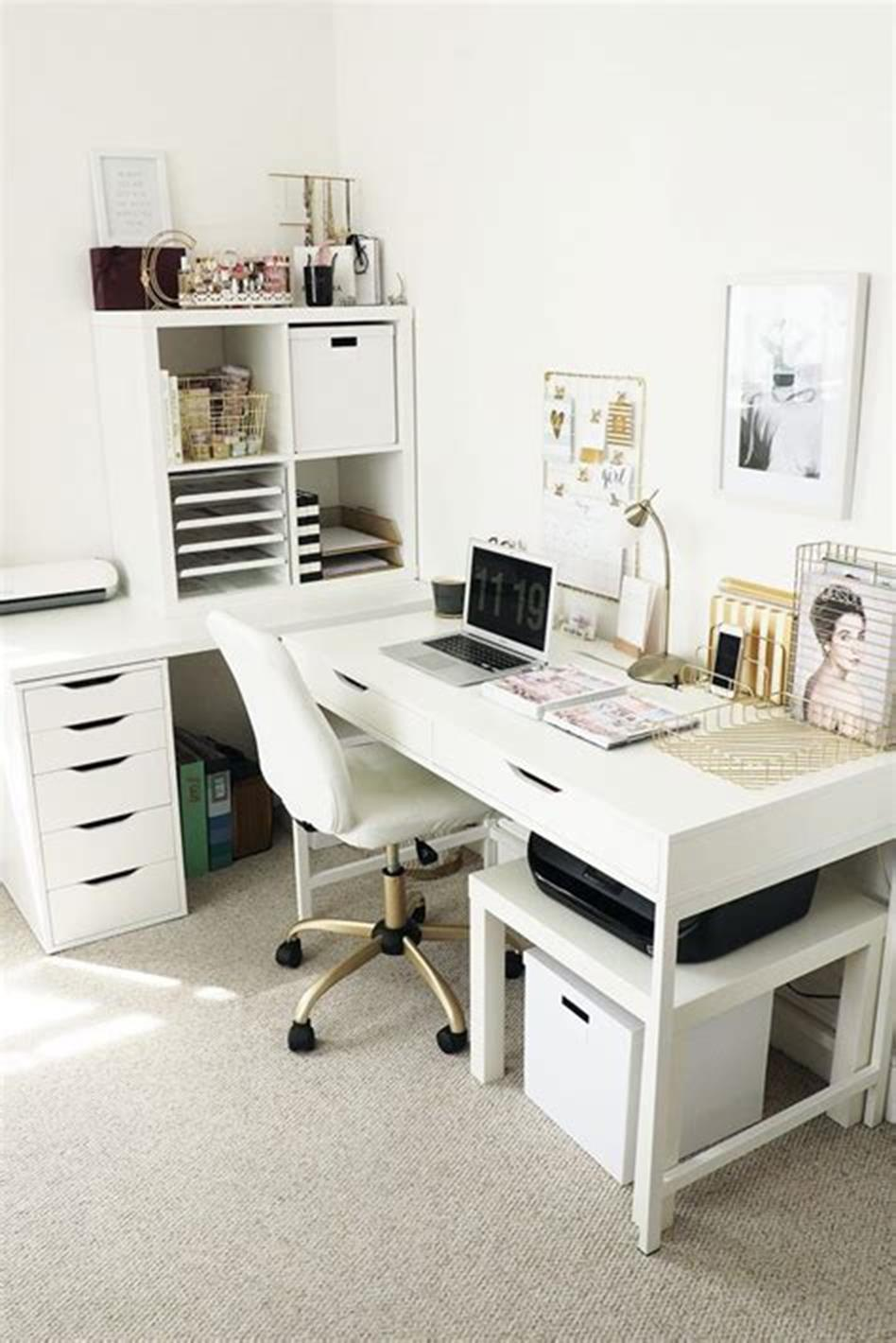 40 Modern Home Office That Will Give Your Room Sleek ...