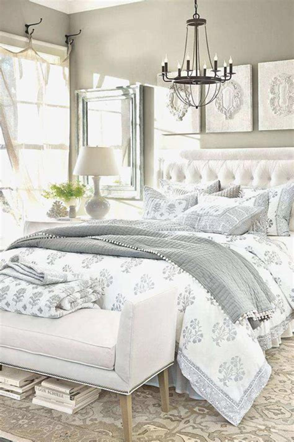 45 Beautiful Master Bedroom Bedding Ideas 2019 32 ...